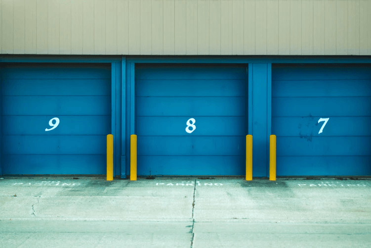 Numbered storage units