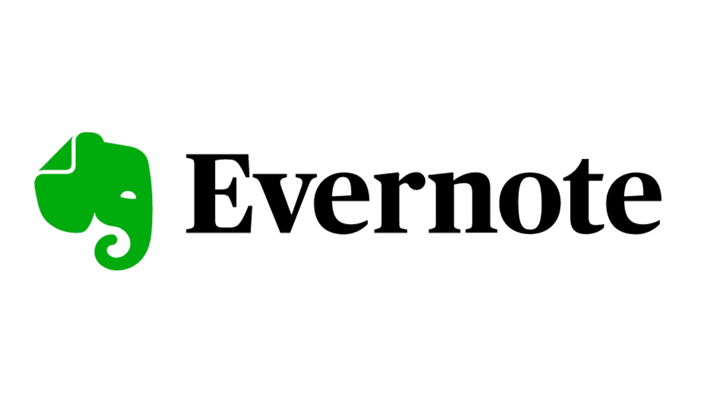 The logo for Evernote.