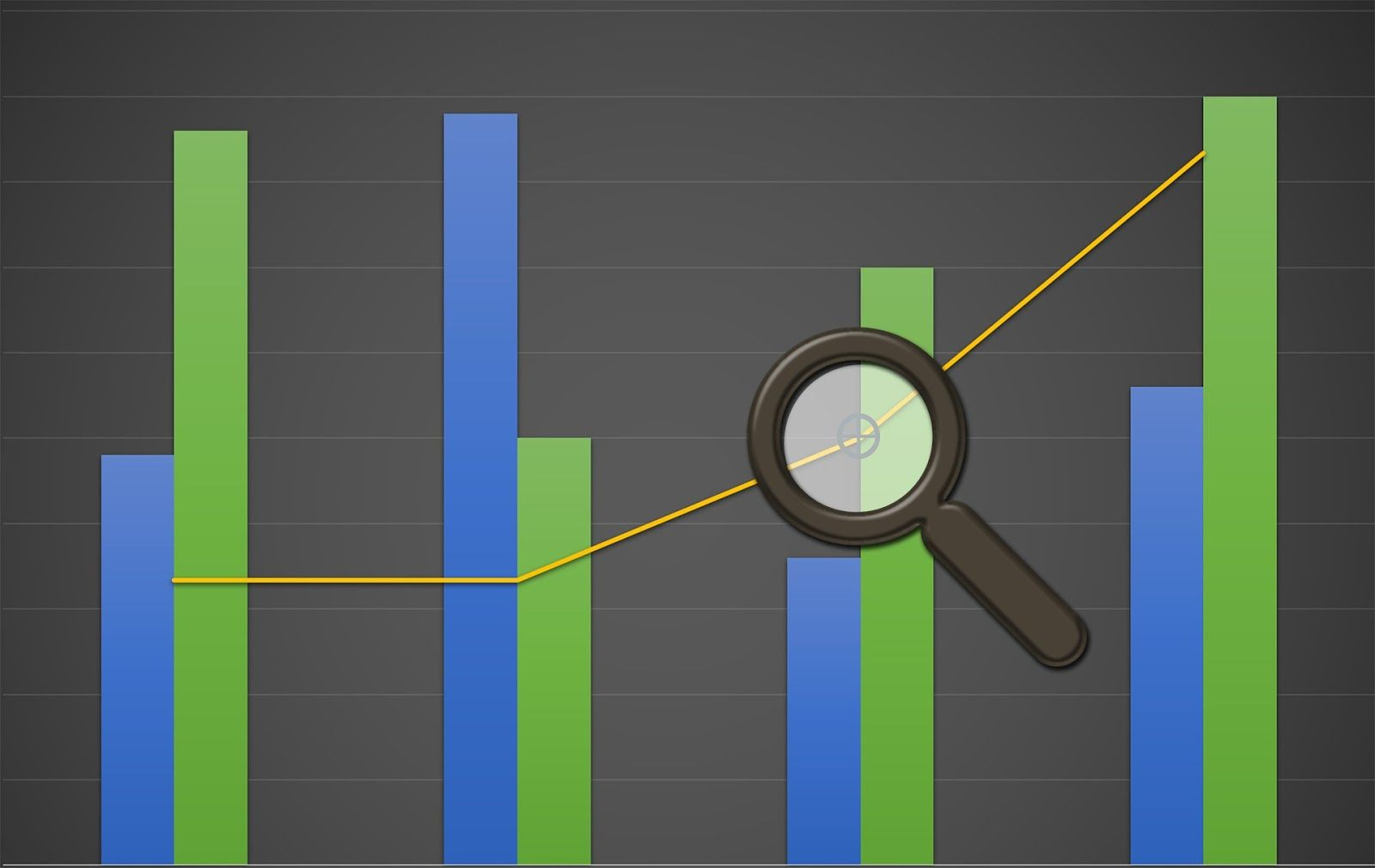 What is sales analytics chart search