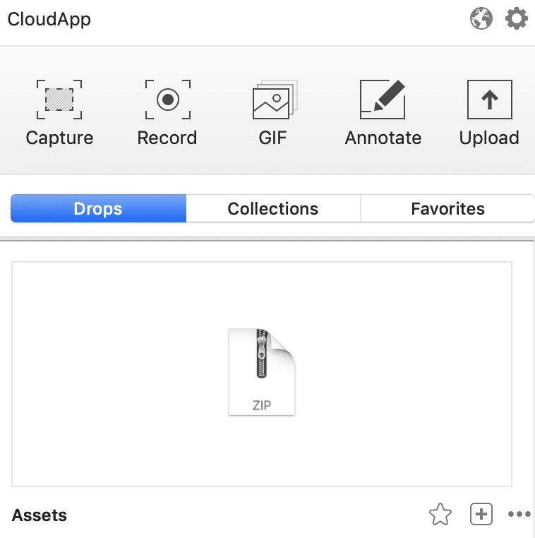 How to upload and share GIFs with CloudApp