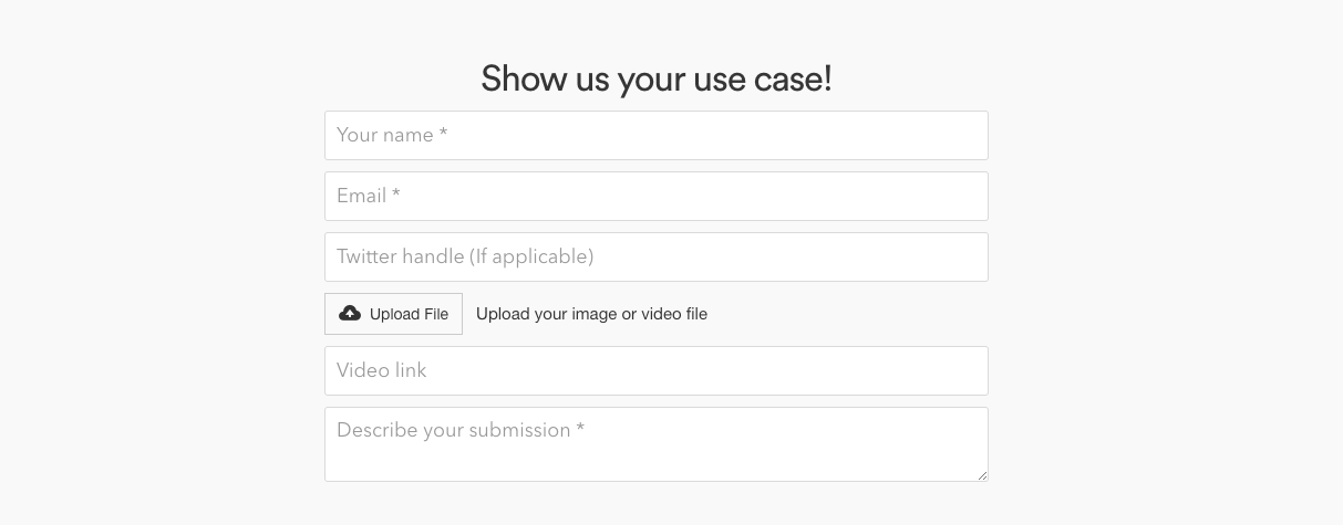CloudApp Use Case Submission