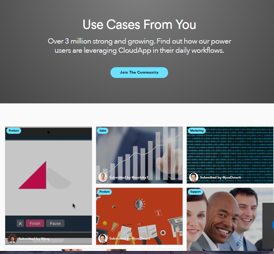 CloudApp Use Cases From You