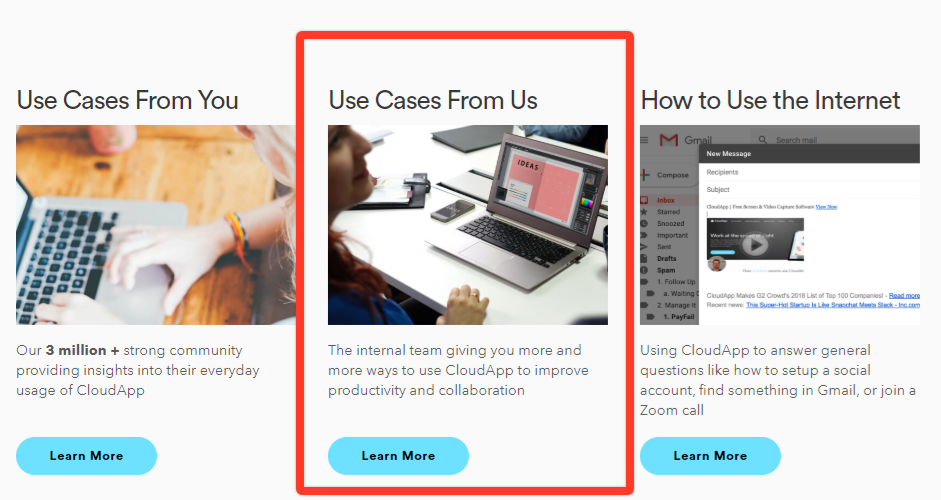 CloudApp Use Cases From Us
