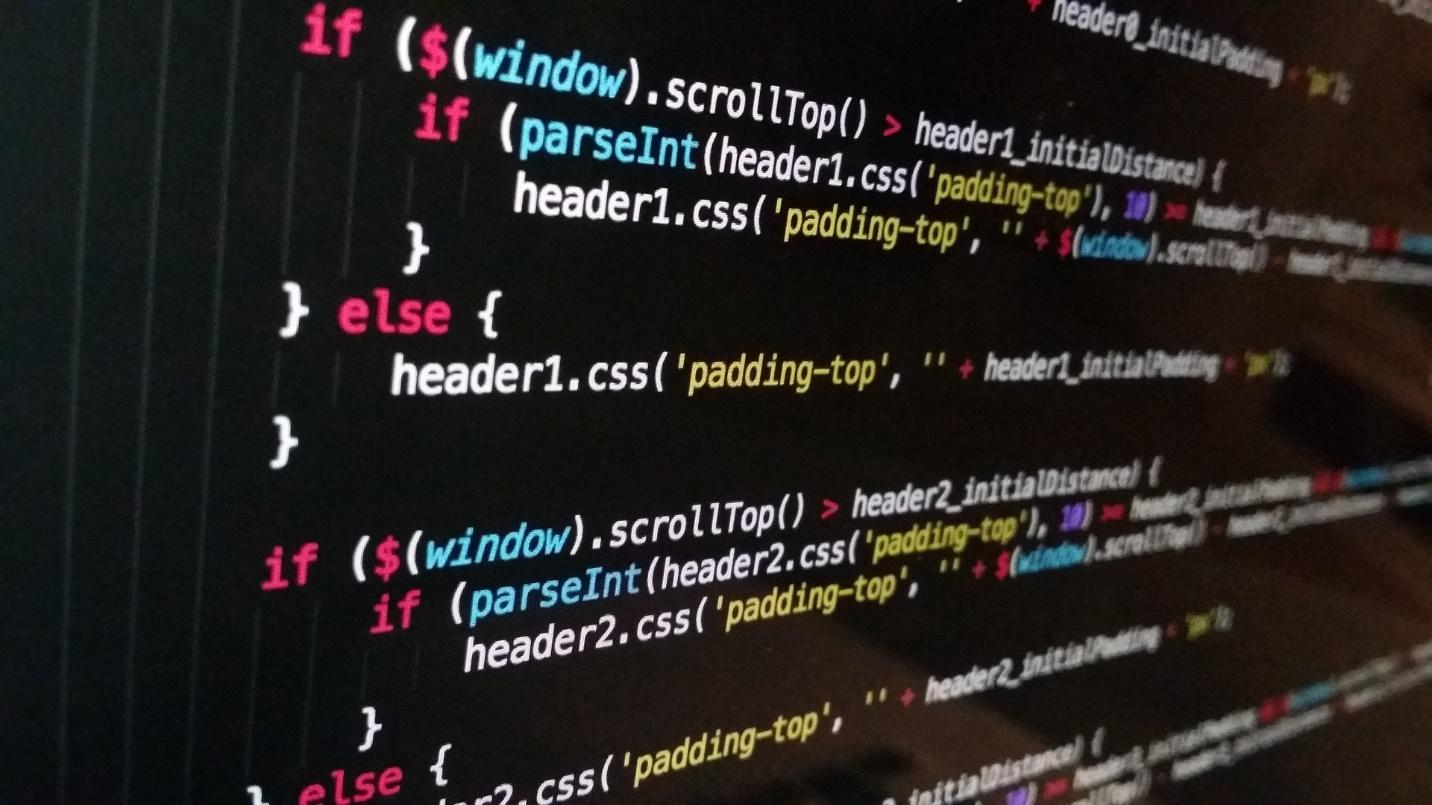 code on screen highlights testing
