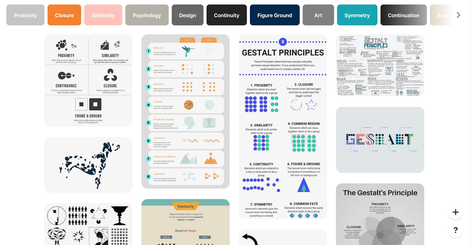 how to use gestalt principle in design