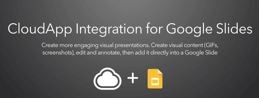 CloudApp Integration for Google Slides