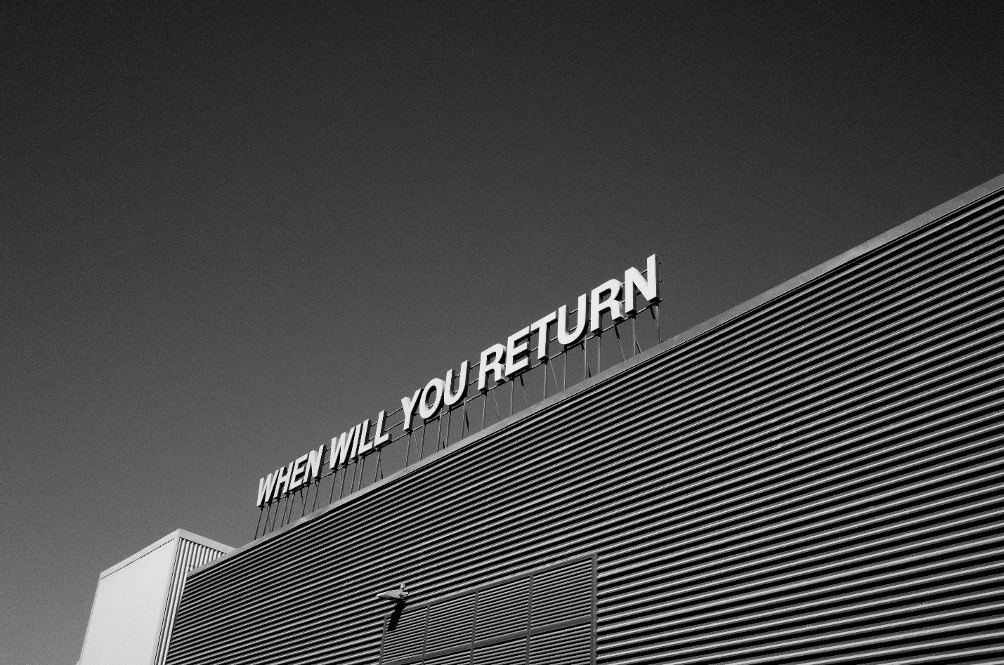 company billboard asks when its customers will return