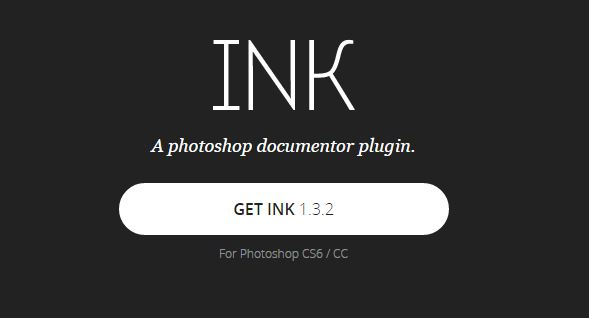 The logo for Ink, a photoshop plugin.