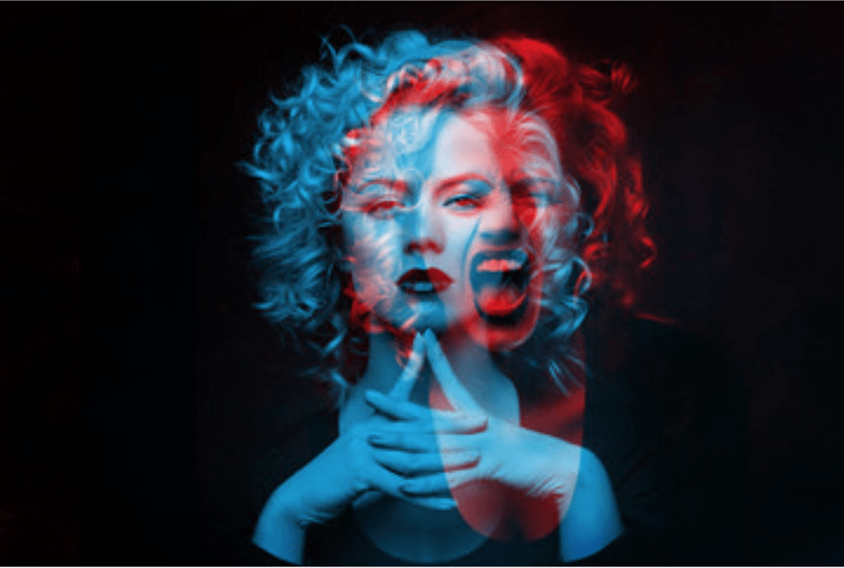 photoshop design trends 2020 double color exposure effect