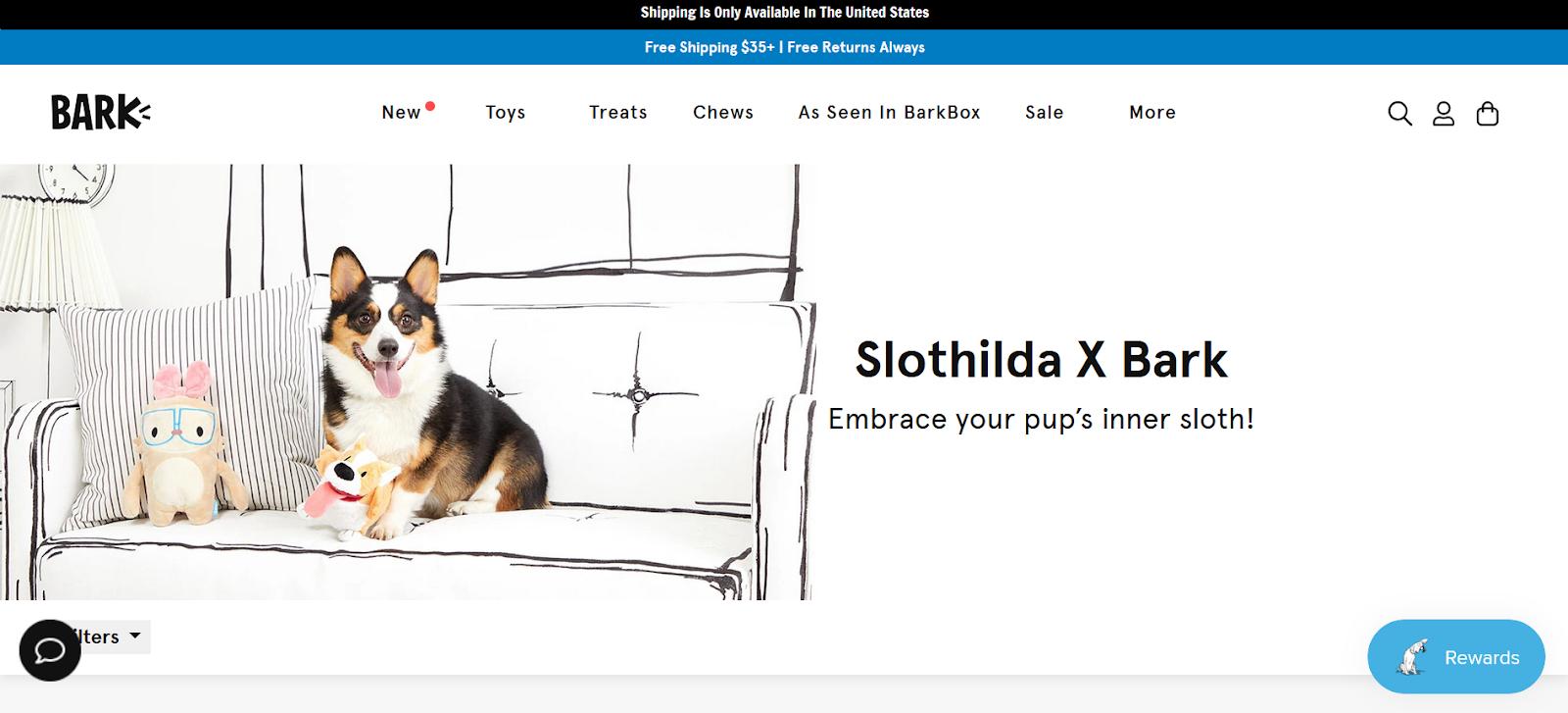 Bark Homepage Banner