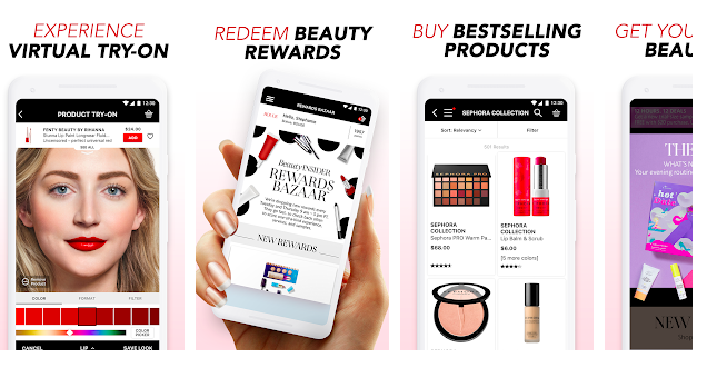 Sephora Website Screenshot