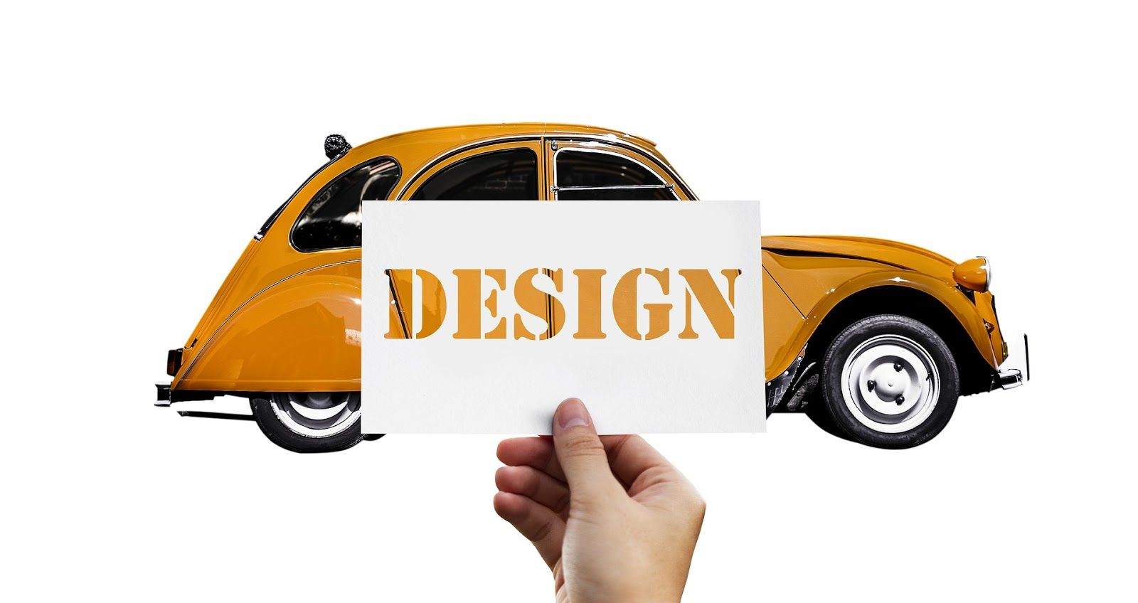 Design thinking yellow volkswagen bug