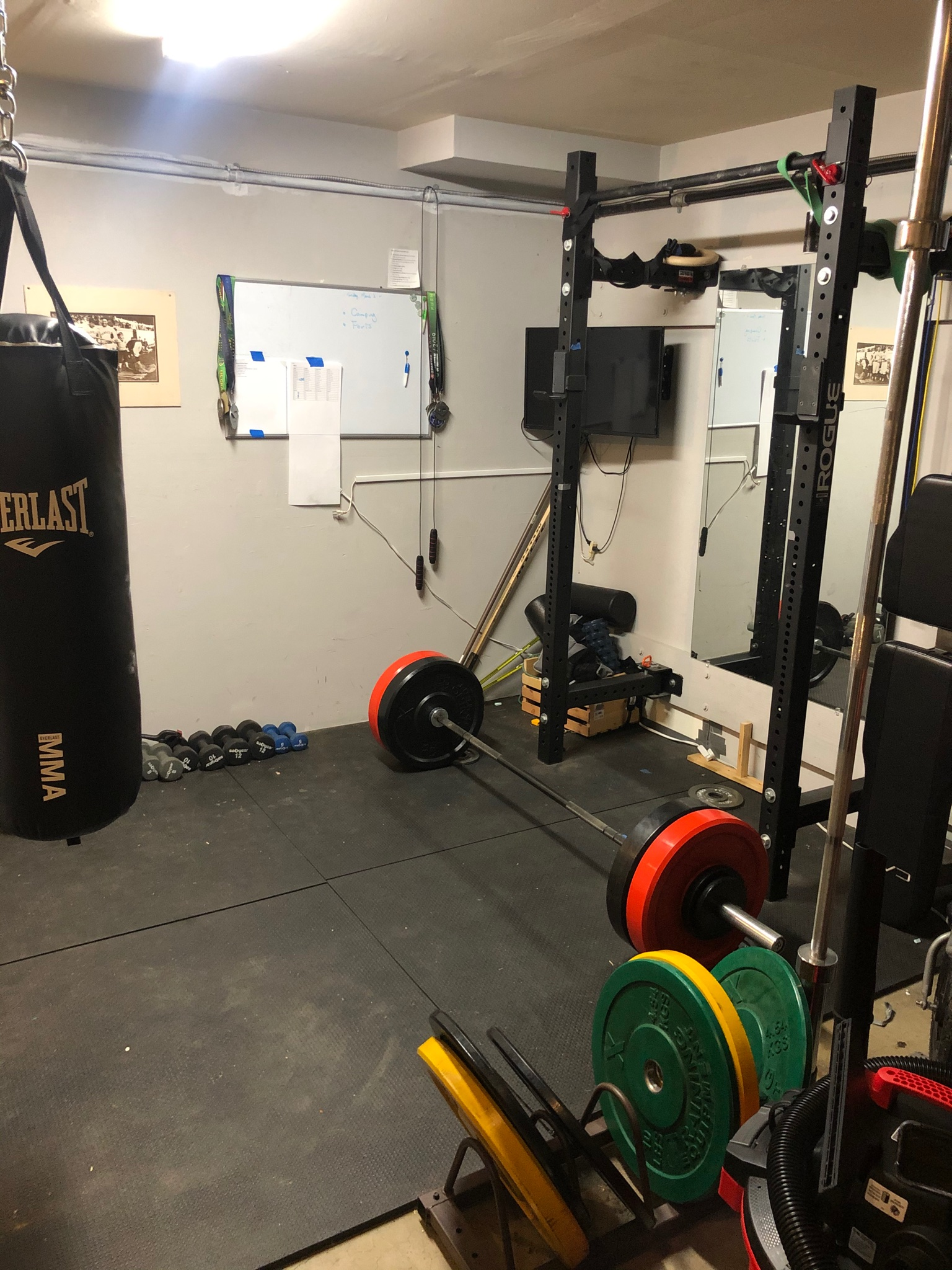 Scott Smith's Home Gym