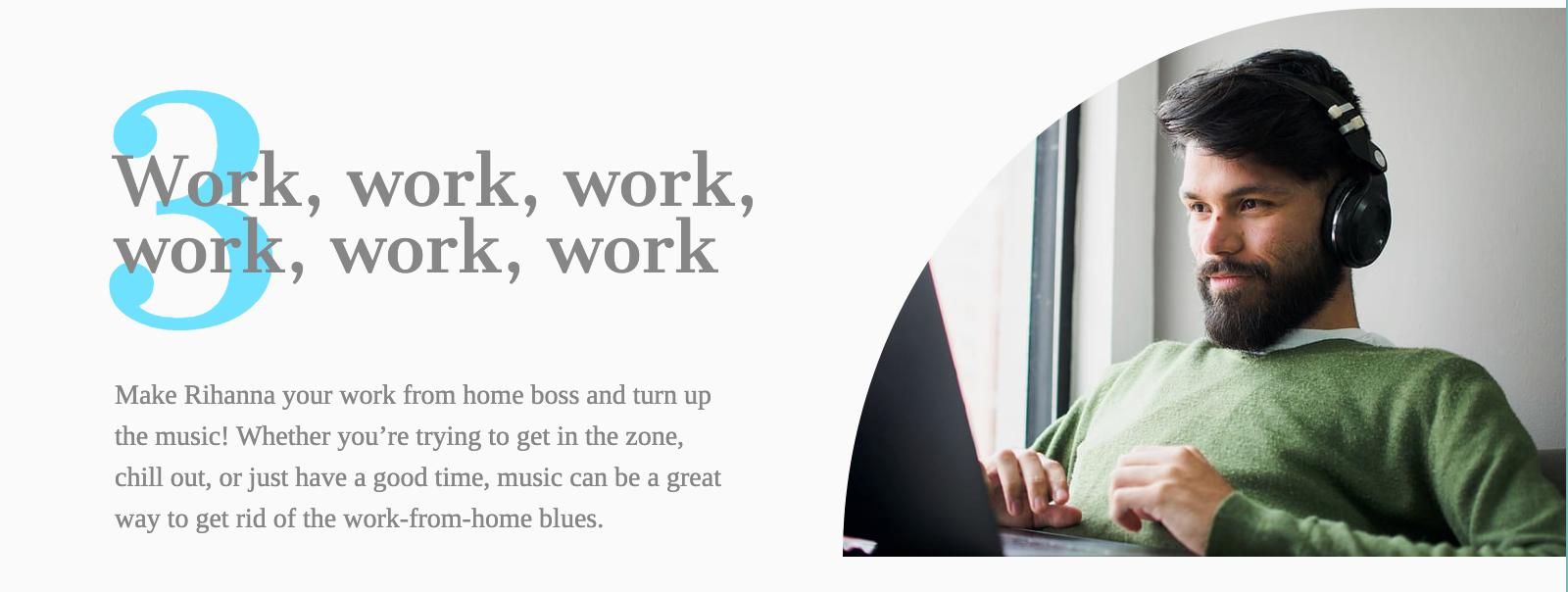 Work, work, work, work, work, work infobit