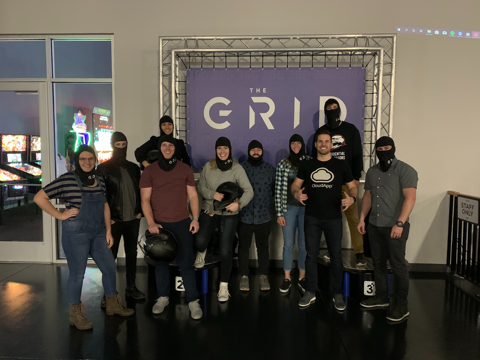 CloudApp Team Activity to The Grid Racetrack