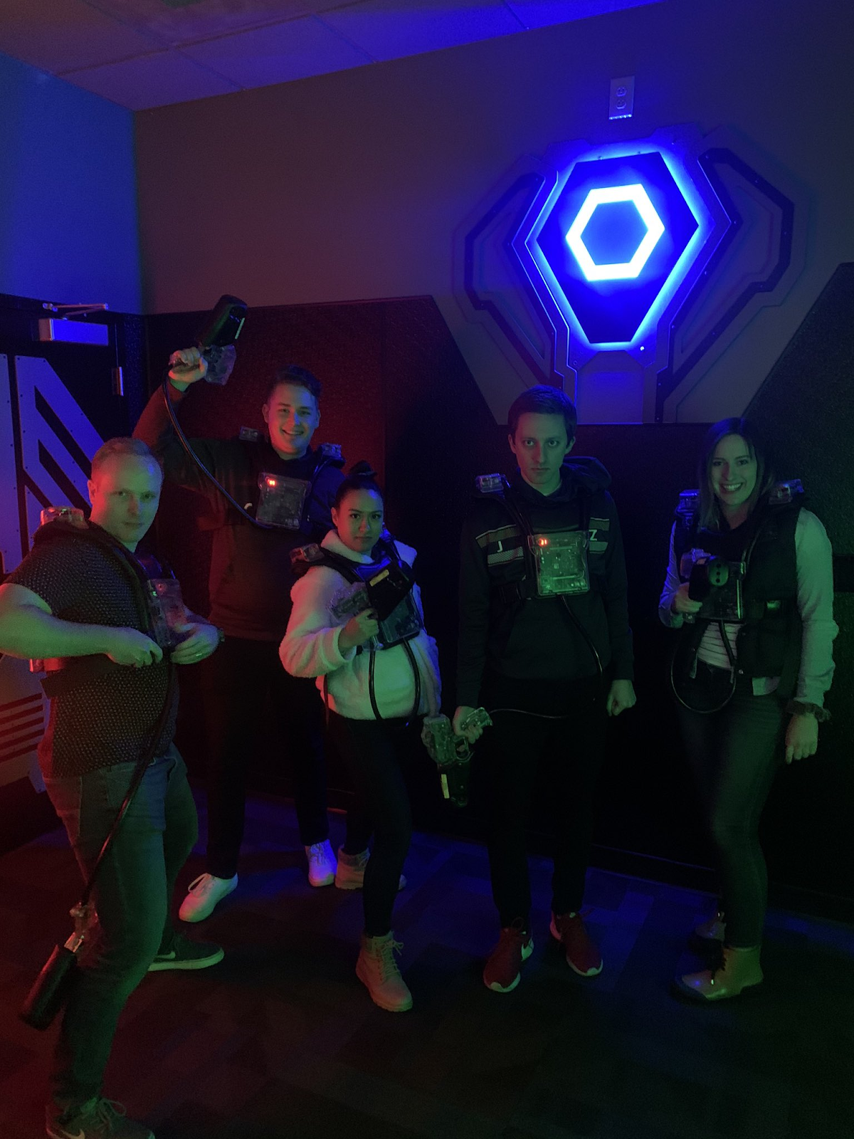CloudApp team activity- laser tag!