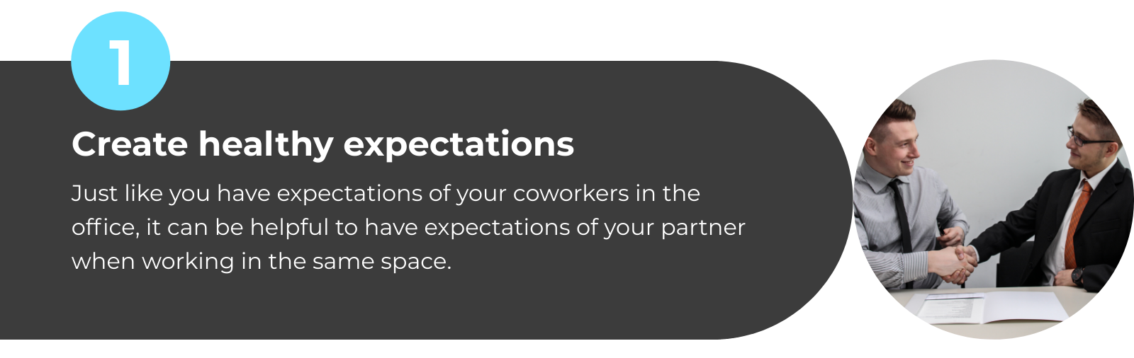 WFH with Partner Tip 1: Create Healthy Expectations