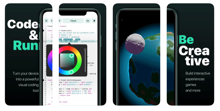 Codea Creative Coding is one of the top tools for programmers
