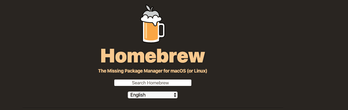 Homebrew, one of the best mac apps for programmers
