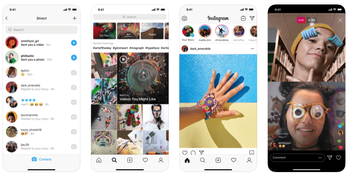 The Instagram App uses React Native
