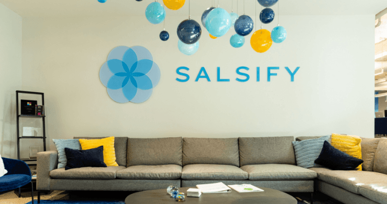 Image of the Salsify offices in Boston, MA.