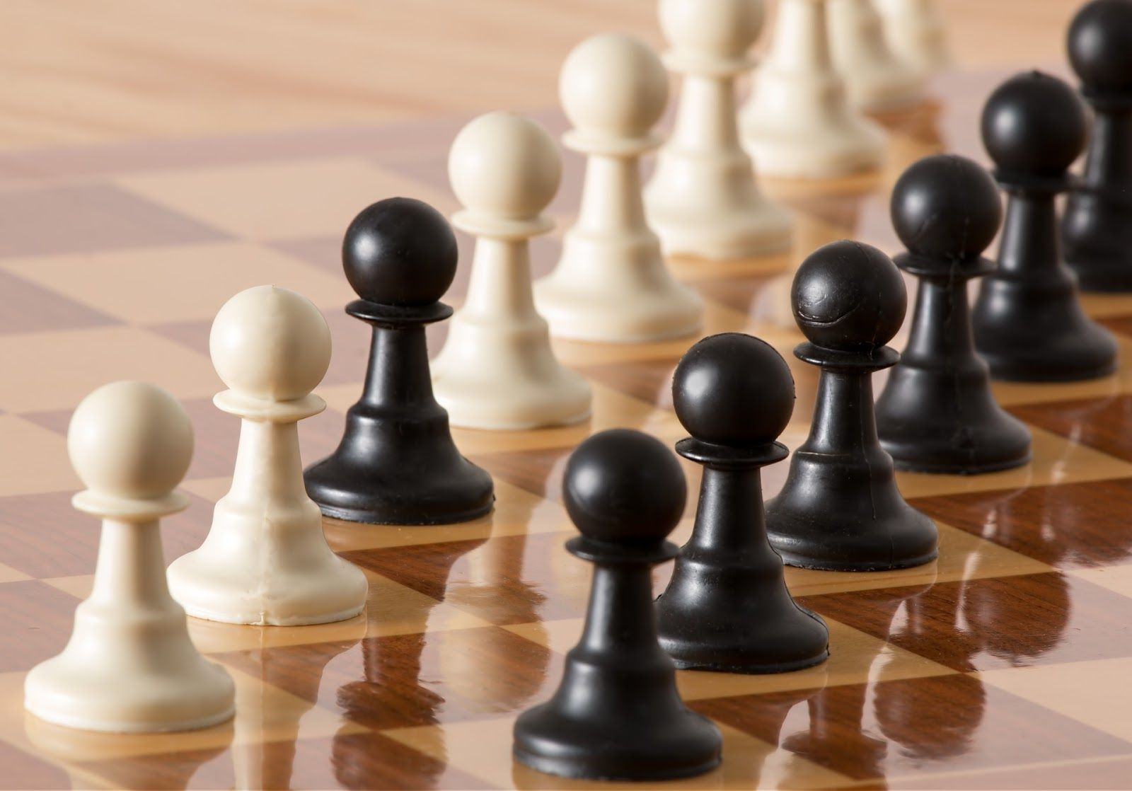 Chessboard and pieces