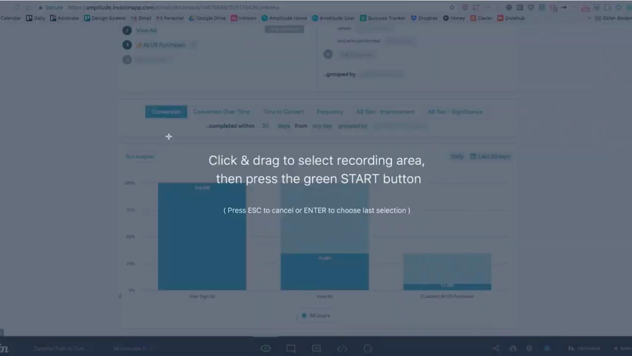 create a video with cloudapp screenshot