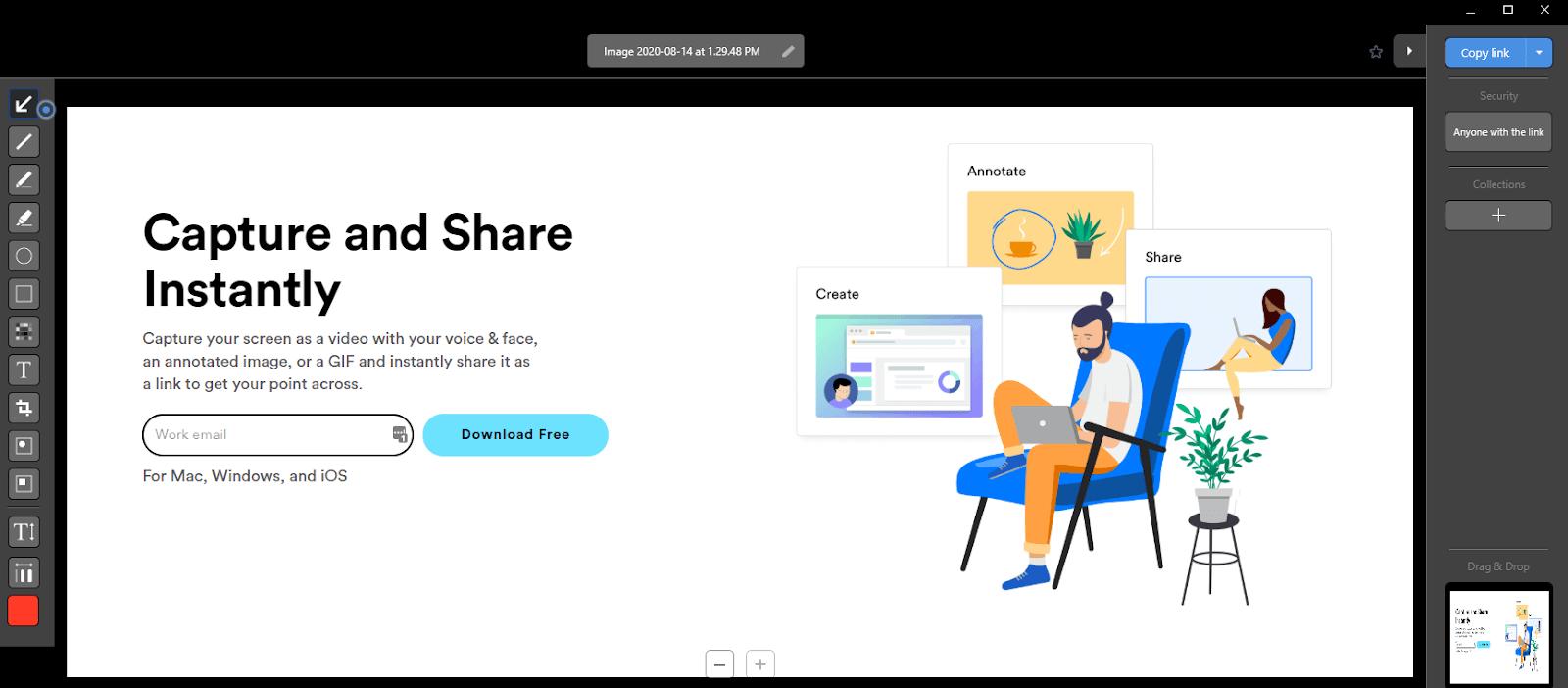 Cloudapp screenshot