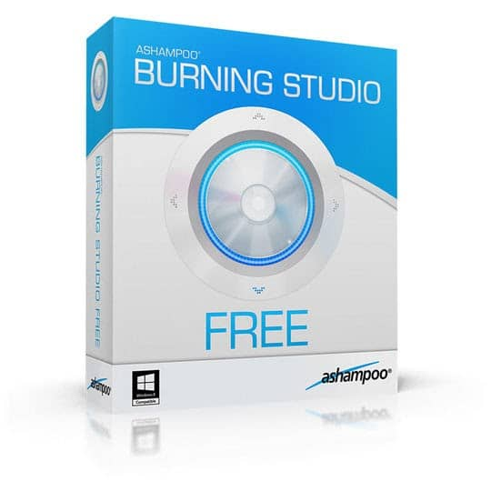 Ashampoo burning studio free logo