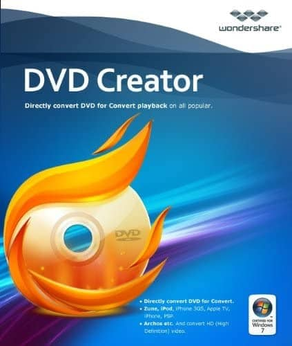 Wondershare DVD Creator logo