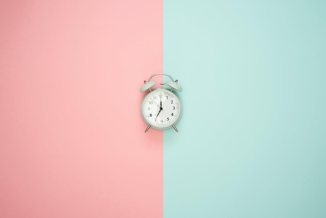 pragmatic marketing framework timing clock on background