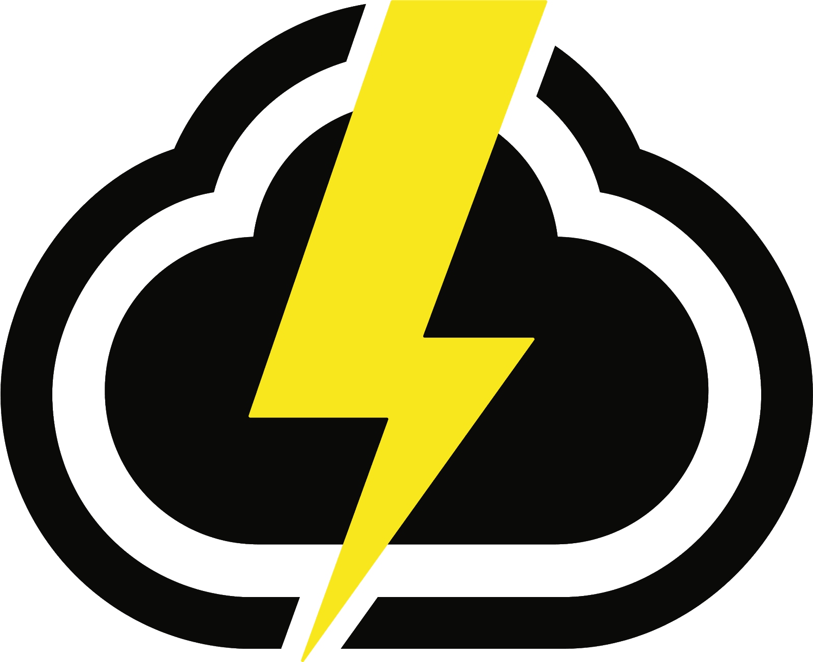 CloudApp upload logo (cloud with lightning)