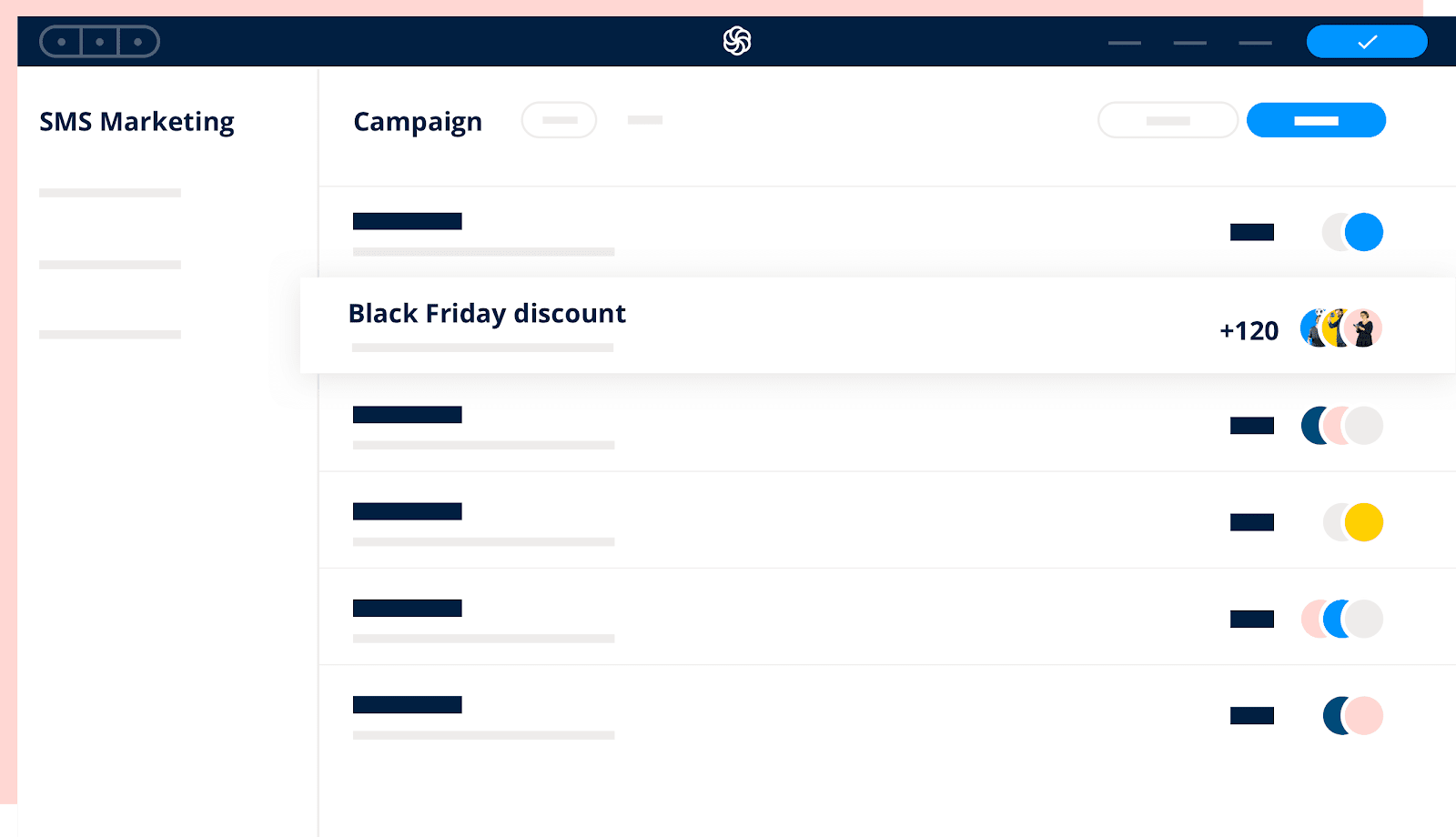 A screenshot of Sendinblue, one of the best email marketing tools.