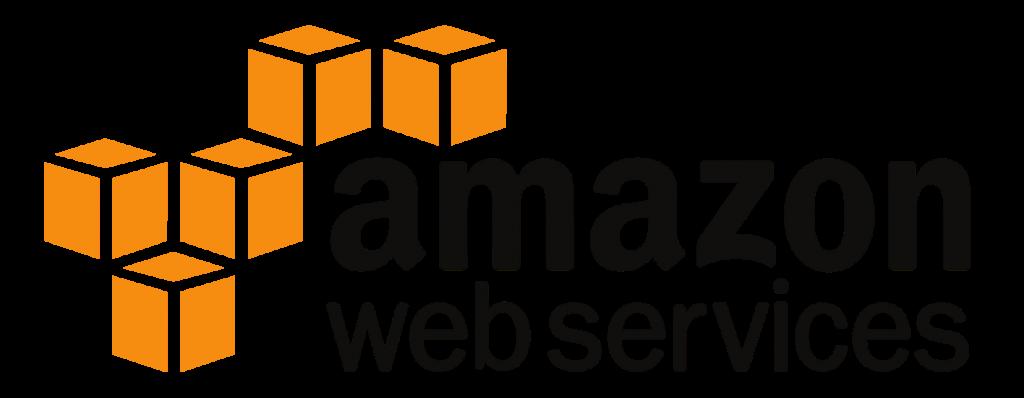 The logo for Amazon Web Services (AWS).