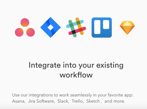 CloudApp integrates with your favorite tools