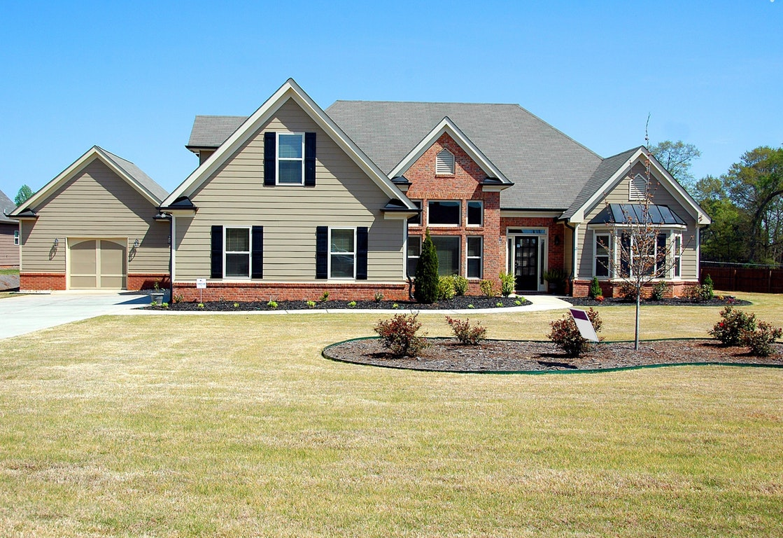 large suburb house