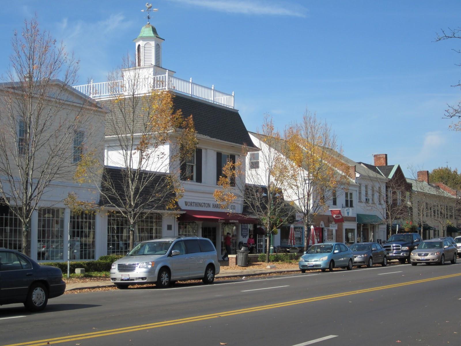 worthington, ohio street