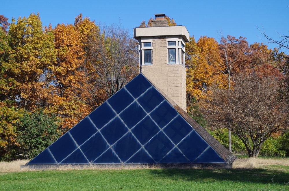 Pyramid Sculpture Park Home in Hamilton Ohio