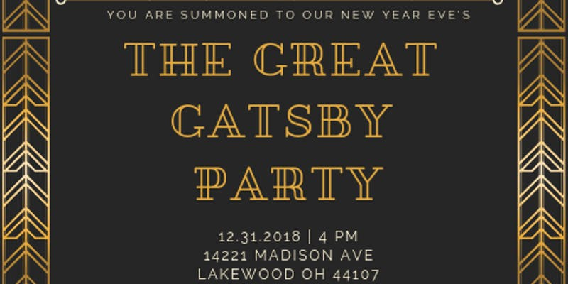 ad for Distill Table Great Gatsby New Year's Eve dinner