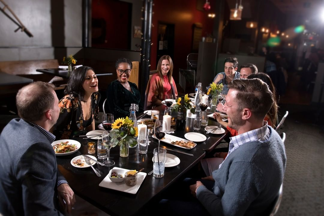 New Years eve dinner at the Flying Fig