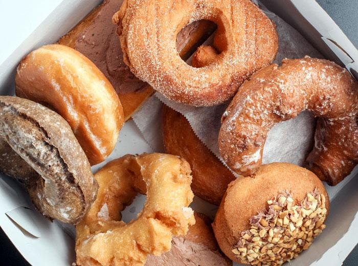 donuts from the DK Diner