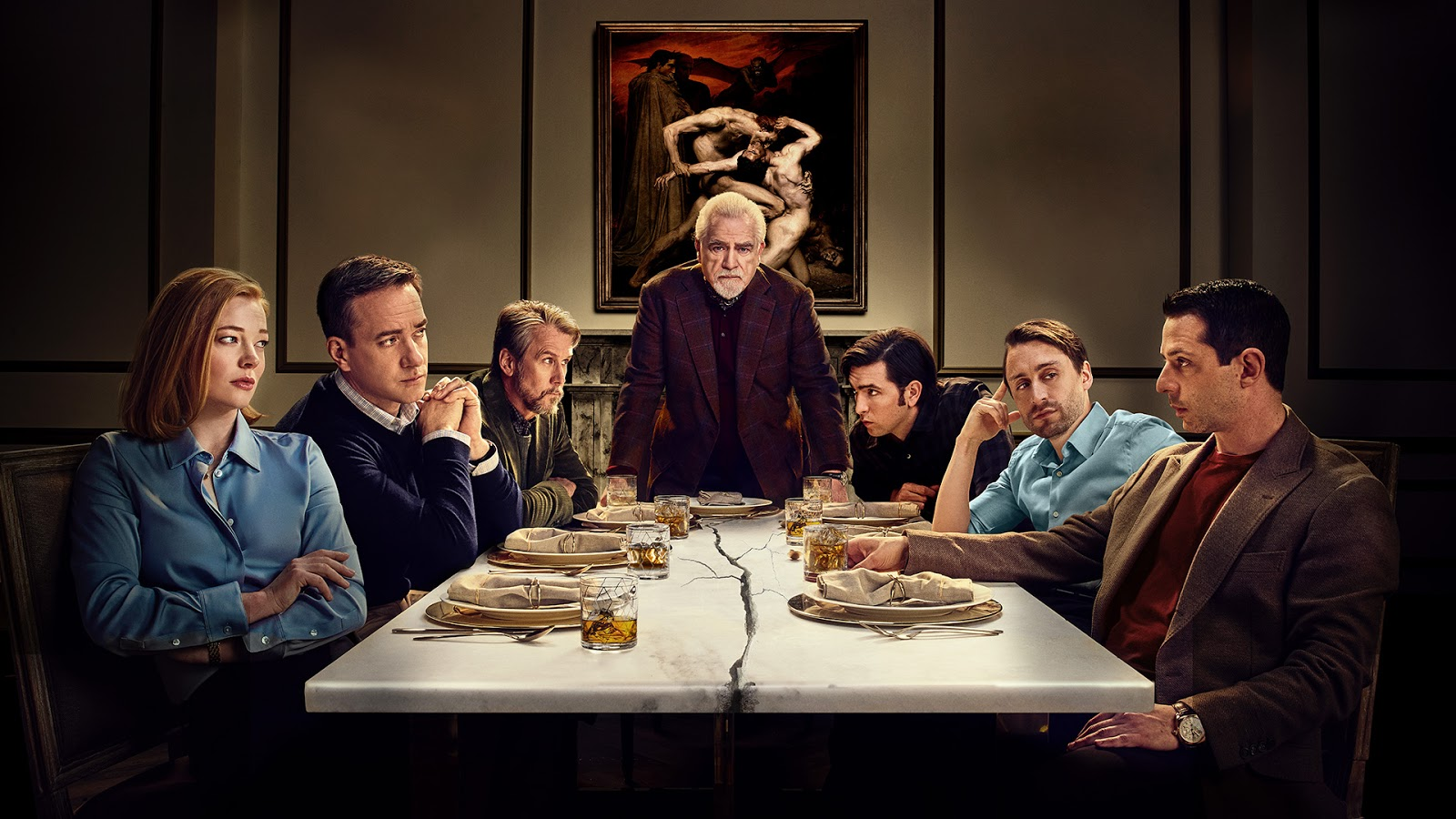 Succession on HBO has the perfect blend of drama and comedy