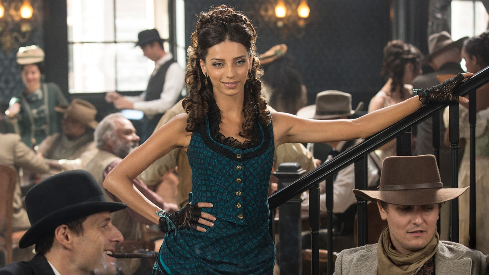 Westworld on HBO takes on a Wild West aesthetic