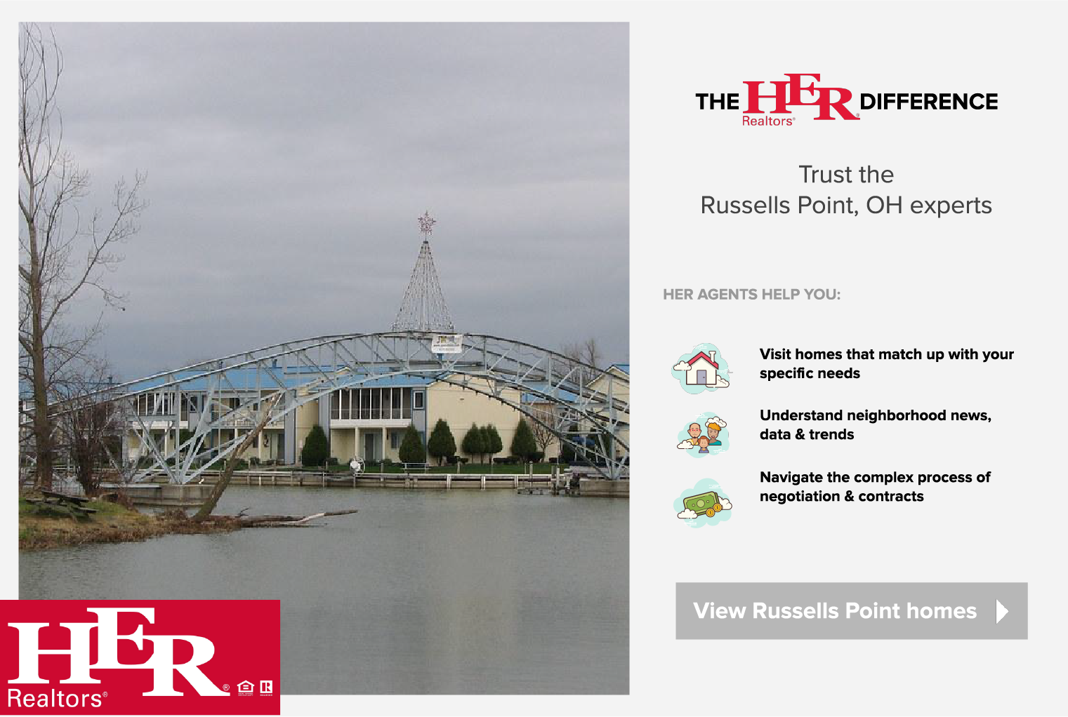 RUSSELLS POINT HOMES FOR SALE