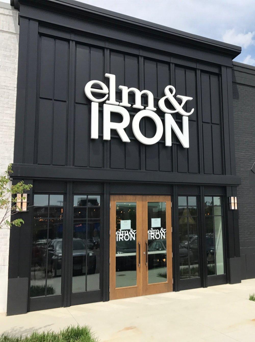 Elm & Iron exterior