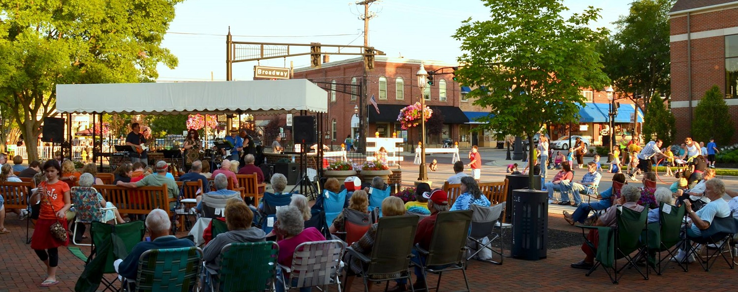 summer sizzle concert series