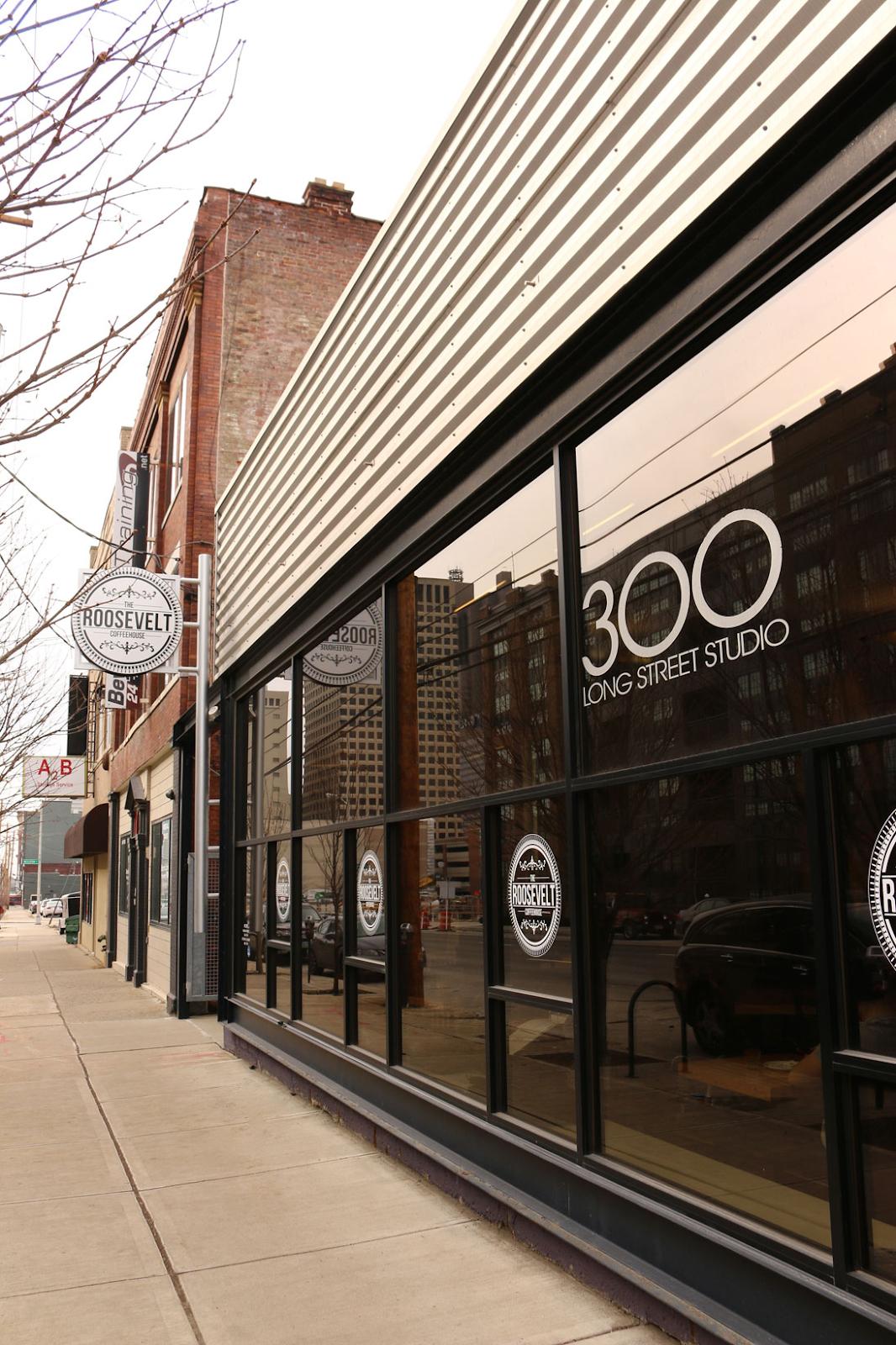 Roosevelt Coffeehouse sleek exterior