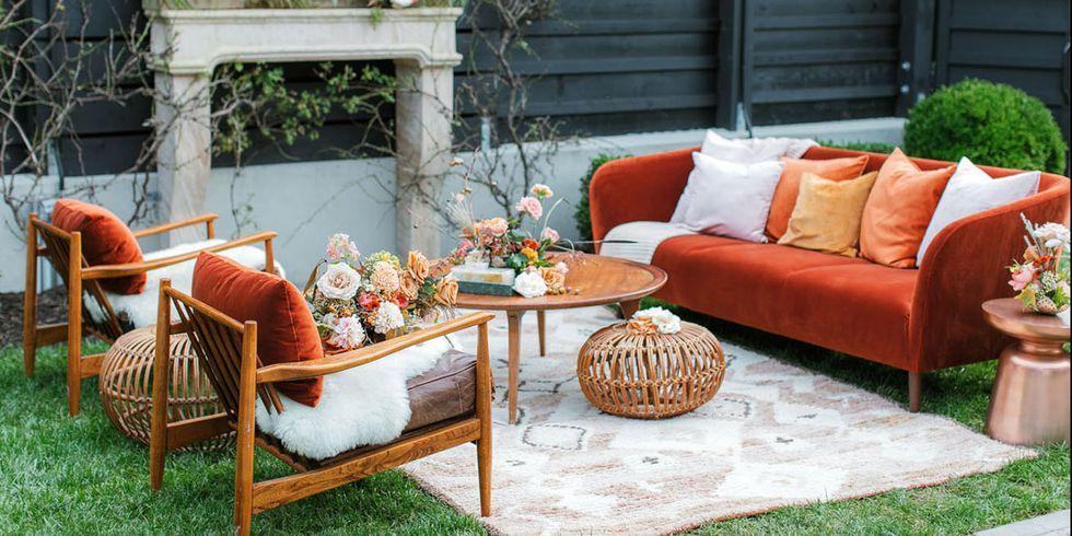 autumn themed furniture