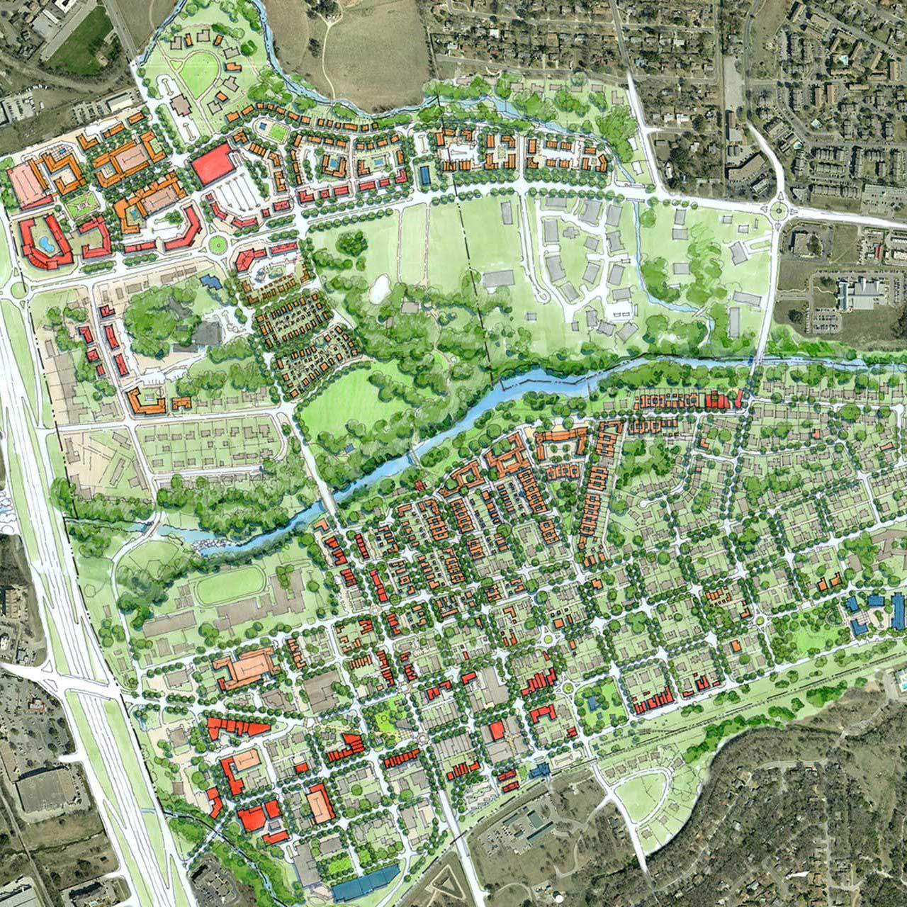 Round Rock Downtown Master Plan