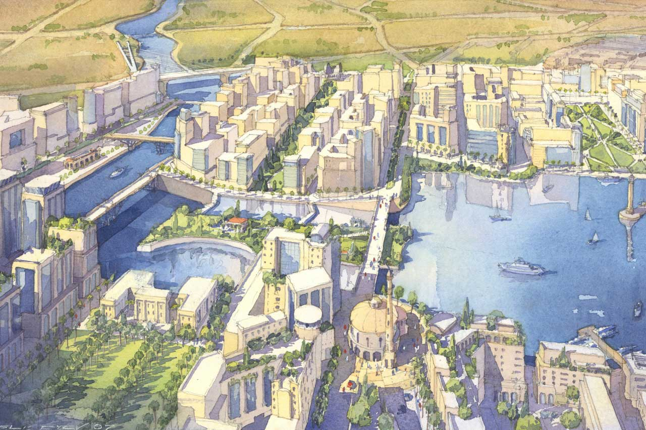 Arabian Canal at Dubai